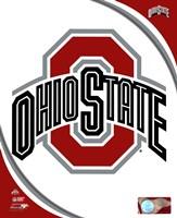 Ohio State University Buckeyes Team Logo Fine Art Print