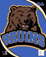 UCLA Bruins Team Logo Fine Art Print