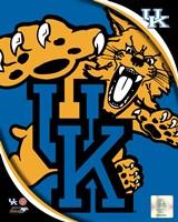 University of Kentucky Wildcats Team Logo Fine Art Print