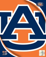Auburn University Tigers Team Logo Fine Art Print