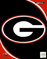 University of Georgia Bulldogs Team Logo Fine Art Print