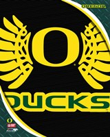 University of Oregon Ducks Team Logo Fine Art Print