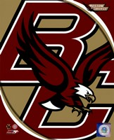 Boston College Eagles Team Logo Fine Art Print