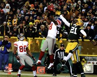 "Hakeem Nicks Touchdown NFC Divisional Playoff Game Action - 10"" x 8"", FulcrumGallery.com brand"