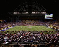 Lucas Oil Stadium Super Bowl XLVI Fine Art Print