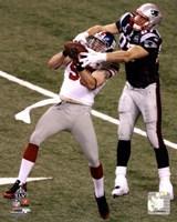 """Chase Blackburn Interception Super Bowl XLVI - 8"""" x 10"""""""