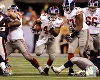 "Ahmad Bradshaw Super Bowl XLVI photograph - 10"" x 8"""