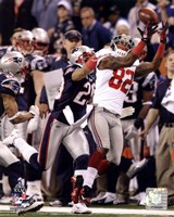 Mario Manningham Catch Super Bowl XLVI Fine Art Print