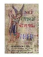 St. Matthew, detail Fine Art Print