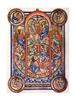 The Miracle of Pentecost, Berthold Missal - various sizes
