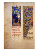 St Jerome with the Decorated Initial to His Prologue Fine Art Print