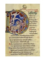 Psalm 136, Initial D In Albani Psalter - various sizes
