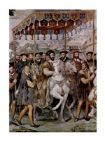 The Solemn Entrance of Emperor Charles V, Francis I of France - various sizes