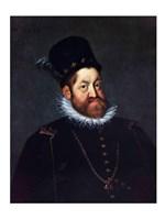Portrait of Emperor Rudolf II - various sizes