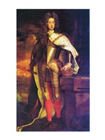 Portrait of the young Holy Roman Emperor Charles VI Fine Art Print