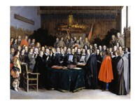 The Ratification of the Treaty of Munster - various sizes