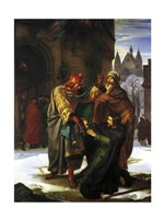 The Reconciliation of Otto the Great with his Brother Henry - various sizes