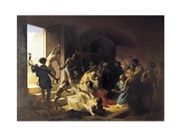 Christian Martyrs in Colosseum - various sizes, FulcrumGallery.com brand
