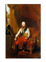 Portrait of Francis I, Emperor of Austria Fine Art Print