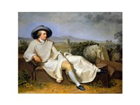 Goethe in the Roman Campagna - various sizes