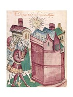 Henry III Sees the New Star of the Town of Tivoli Fine Art Print