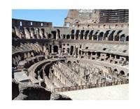 Inside Rome's Colosseum Fine Art Print