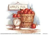 Bushel of Apples Fine Art Print