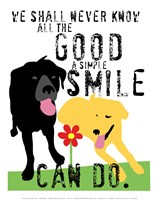 The Good a Simple Smile Can Do Fine Art Print