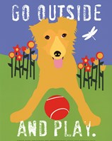 Go Outside and Play Fine Art Print