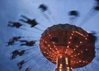 Sky Ride III Framed Print