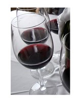 Glasses of Red Wine - various sizes