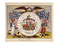 United States of America, our standard coffee Fine Art Print