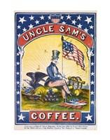 Uncle Sam's Coffee Fine Art Print