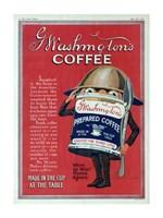 Washington Coffee New York Tribune Fine Art Print