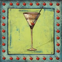 "Cherry Coctelito by Patricia Pinto - 12"" x 12"""