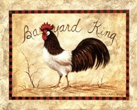 """Barnyard King by Peggy Thatch Sibley - 20"""" x 16"""""""