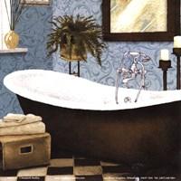 """Afternoon Bath II by Elizabeth Medley - 6"""" x 6"""" - $9.99"""