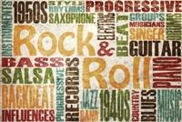 Rock & Roll Fine Art Print