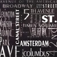 Streets Of New York Fine Art Print