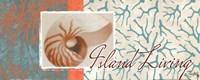 """Island Living by Elizabeth Medley - 20"""" x 8"""""""