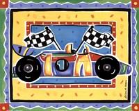 Race Car Framed Print