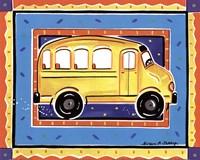 School Bus Fine Art Print