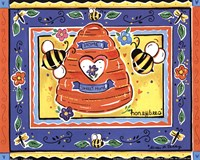 Honeybees Fine Art Print