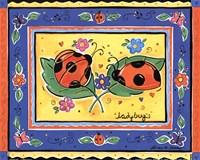Ladybugs Fine Art Print