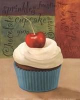 Cherry Cupcakes I Fine Art Print