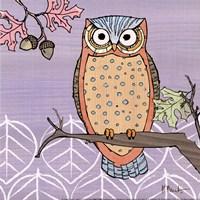 Pastel Owls II - mini Framed Print