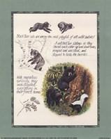 Bear Study Fine Art Print