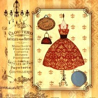 French Couture Fine Art Print