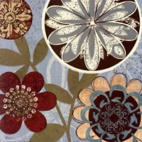 Persian Garden I Framed Print