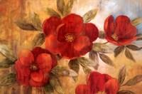 """Jardin Rouge I by Nan - 36"""" x 24"""""""